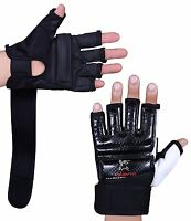 ISLERO Leather body combat GEL Gloves MMA Boxing Punch Bag Martial Arts Karate