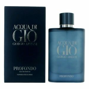 Acqua Di Gio Profondo by Giorgio Armani, 4.2 oz EDP Spray for Men