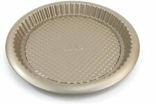 "Chicago Metallic Arch Textured Non-Stick Round Tart Baking Pan, 11"" Champagne"