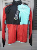 Fox Racing Gradient Mens L Large Jacket 15019 Red Blue Black Waterproof Hooded