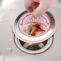 Plug Material Strainer Drain Stainless Steel Basket Filter Sink Kitchen