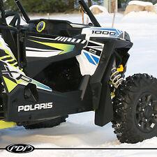 Polaris RZR XP 1000 & XP1000-4 Mud Flaps / Fender Flares by PDP _ BLACK