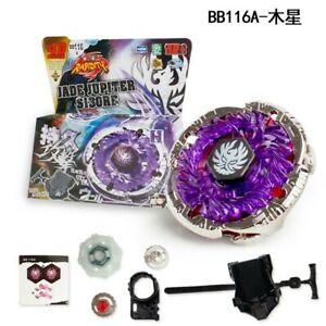 JADE JUPITER Fusion Metal Master 4D Beyblade BB116A With Power Launcher HOT