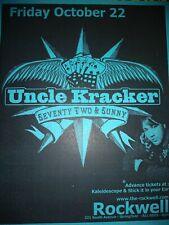 Uncle Kracker * Rare Concert Flyer Handbill *
