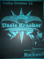 Uncle Kracker * Rare Concert Flyer Handbill * 10/22/2005 Springfield, Mo
