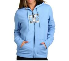 *NWT*DC IMAGINATION WOMEN'S FLEECE FULL-ZIP HOODIE*ALLURE BLUE*SIZE SMALL*
