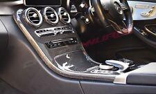 Mercedes Clase C C63 Fibra de Carbono Consola Central - No Reloj Opción - W205