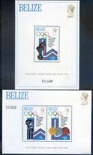 Belize 1979 Winter Olympics set 2 miniature sheets hinged mint (2020/02/05#03)