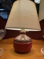 Mid Century Modern Ellis  Retro  Pottery Table Lamp