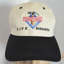 Handyman Club of America Snapback Mens Baseball Hat Ball Cap Lid Carpenter Tools