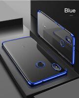 Per Xiaomi Mi A2 Cover Custodia TPU Silicone Ultra Sottile Protettiva Case Blu
