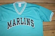 VTG 2001 True Fan Florida Marlins Mesh Jersey T-Shirt XL Baseball MLB Miami