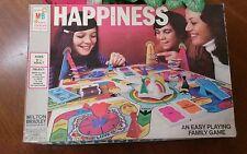 Vintage Happiness Board Game Milton Bradley 1972