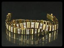 Edles Brillant Armband ca. 1,16ct  18,6g 750/- Gelbgold