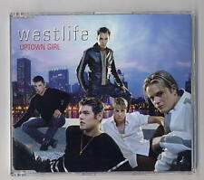 WESTLIFE Rare Cd Single UPTOWN GIRL 1 track  2001