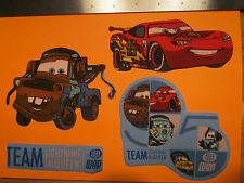 Disney Pixar Cars Movie Fabric Iron Ons style #4 appliques