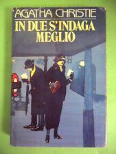 CHRISTIE.IN DUE S'INDAGA MEGLIO.CDE.1985