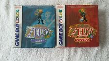 NINTENDO GAME BOY -  ZELDA ORACLE OF AGES & SEASONS (BOXED 2)