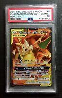 Pokemon PSA 10 Charizard & Braixen Remix Bout #8/64 Japanese Gem Mint