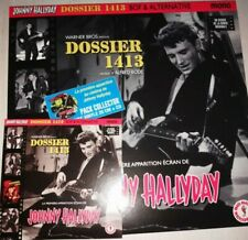 JOHNNY HALLYDAY vo film dossier 1413 pack collector CD+VINYL FORMAT COLLECTORS