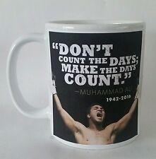 Boxing Muhammed Ali tribute mug