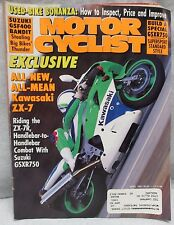 Motor Cyclist Motorcyclist Magazine April 1991Suzuki GSF400 Bandit Motorcycle #2