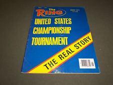 1977 AUGUST THE RING MAGAZINE - UNITED STATES CHAMPIONSHIP TOURNAMENT - SP 5337
