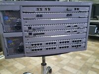 Bay Networks Accelar1200 With 2 XLR12 Modules And 2 Power Supplies and more