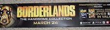 BORDERLANDS The Handsome Collection Video Game Store Display Sign