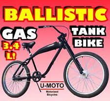 "Diy 26"" Gas Tank Bike For 2-Stroke 66Cc/80Cc Motorized Bike Kit"