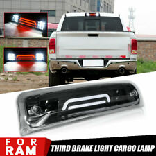 Clear LED 3rd Third Brake Cargo Light Fit 2009-2018 Dodge RAM 1500 2500 3500