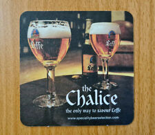 More details for 500 x sealed leffe glass bottle pub beer mats coasters 2 sided