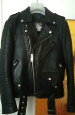 Blackmeans Lederjacke Japan luxury Biker Jacket schwarz, 44-46 / XS-S NP 3k+