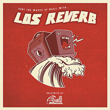 CD - Los Reverb - Surf The Waves Of Music With. - surf rock from Uruguay