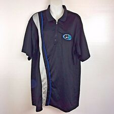 Nike Mens Quarter Zip Pullover Shirt Swoosh Patch BlackLarge B46