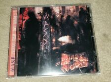W.A.S.P. import cd DYING FOR THE WORLD wasp  free US shipping