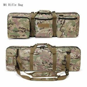 Tactical Rifle Gun Bag Carrier Shoulder Backpack Dual Hunting Airsoft Military