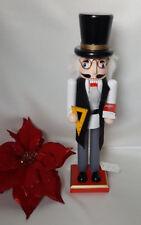 "Teacher Professor Nutcracker 15"" School - Teacher Gift Decorative Nutcracker Nwt"