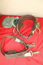 Buckingham E20 Right 11 85 Pole Climbing Body Tool Belt w/D 2-86 Pole Strap