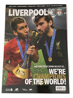 *LIVERPOOL FC FIRMINO / ALISSON WORLD CLUB CUP OFFICIAL MAGAZINE FEBRUARY 2020*