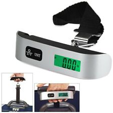 LCD Mini Luggage Electronic Scale Thermometer 50kg Capacity Digital Weighing
