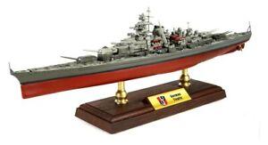 """Battleship Tirpitz 1:700 14"""" Forces of Valor Diecast Bismarck Sister Ship Model"""