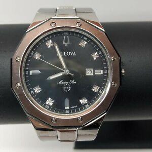 Bulova Marine Star Diamond Men's Watch Model C976917
