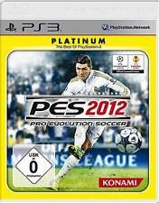 Playstation 3 PRO Evolution SOCCER 2012 Deutsch PES Neuwertig