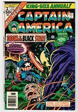 Marvel Captain America King-Size Annual #3 - Kirby Art - Vf 1976 Vintage Comic