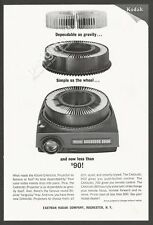 KODAK CAROUSEL Projector 1965 Vintage Print Ad