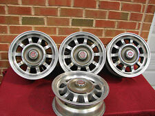 VINTAGE WESTERN ALUMINUM WHEELS 13X5.4 4 BOLT 4 TO 4 1/2 100TO 114.3 BC MG VEGA