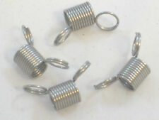 4 MINI BEAD STOPPERS TOOL HOLDING SPRINGS WIRE GRIPPING PAIR
