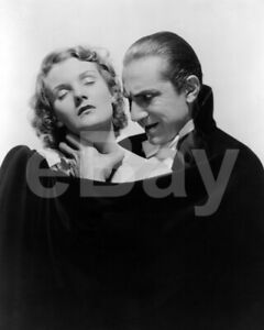 Dracula (1931) Helen Chandler, Bela Lugosi 10x8 Photo