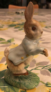 Vintage Beatrix Potter Peter Rabbit Figurine Beswick England 1948 F. Warne